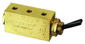 Clippard 4 way air control valve