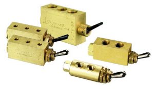 2 Way, 3 Way and 4 Way Air Valves